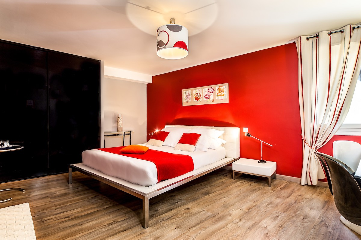 Chambre double hotel Narbonne - Hotel Residence